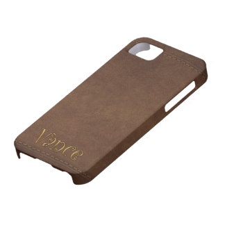 VANCE Custom Leather-look Cell Phone Case