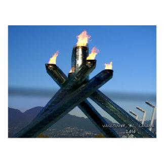 Vancouver BC Canada 2010 Postcards