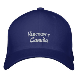 Vancouver, Canada Embroidered Hat