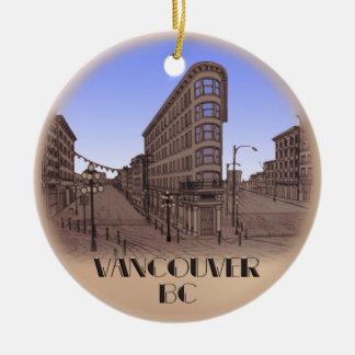 Vancouver Canada Gastown Ornament Souvenirs