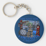 Vancouver Canada Key Chain Personalised Souvenirs