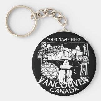 Vancouver Canada Key Chain Vancouver Souvenirs