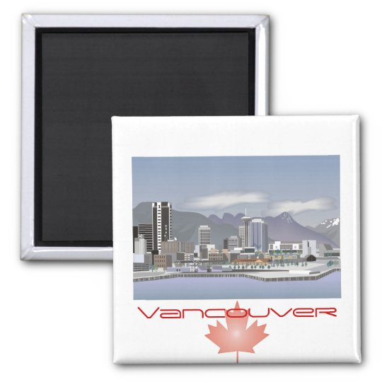Vancouver Canada Magnet