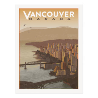 Vancouver Canada | Save the Date Postcard