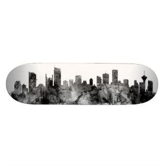 Vancouver Canada Skyline Custom Skateboard