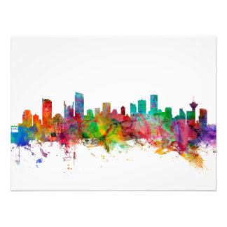 Vancouver Canada Skyline Photo Print