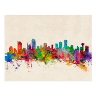 Vancouver Canada Skyline Postcard