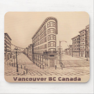 Vancouver Canada Souvenir Mousepad Gastown Gifts