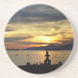 Vancouver Coaster Inukshuk Vancouver Souvenir Coas