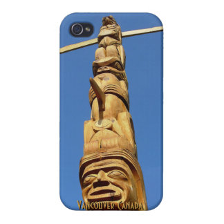 Vancouver iPhone 4 Case Totem Pole Personalized