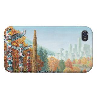 Vancouver iPhone 4 Case Totem Pole Souvenir