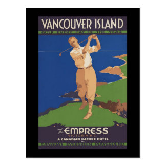 Vancouver Island Golf every day of the year Postcard