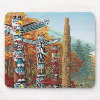Vancouver Mousepad Souvenir Vancouver Art Gifts