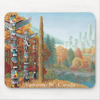 Vancouver Mousepad Souvenir Vancouver Canada Gifts