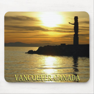 Vancouver Mousepad Souvenir Vancouver Sunset Gifts