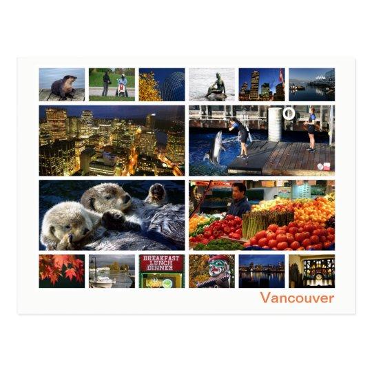 Vancouver multi-image 2 postcard