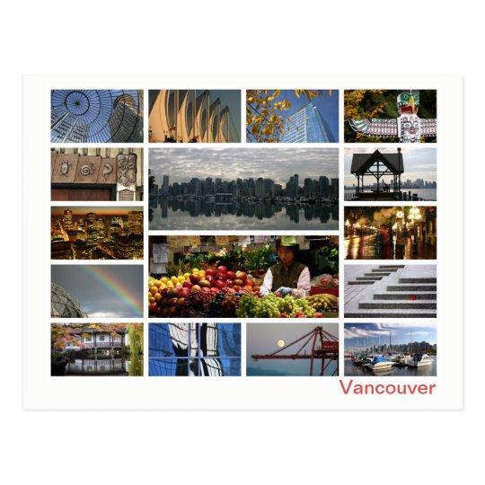 Vancouver multi-image postcard