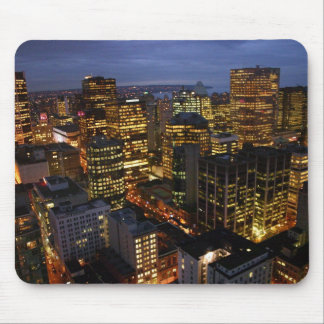 Vancouver night-time mousemat