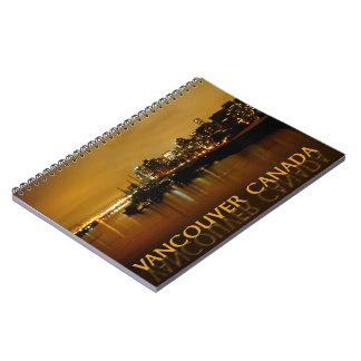 Vancouver Notebook Vancouver Cityscape Souvenir