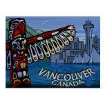 Vancouver Postcards Totem Pole & Landmarks Cards
