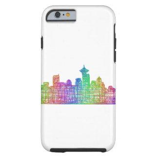 Vancouver skyline tough iPhone 6 case