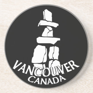 Vancouver Souvenir Coaster Inukshuk Art Coasters