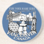 Vancouver Souvenir Coaster Personalised Gifts