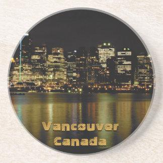 Vancouver Souvenir Coasters Vancouver Cityscape