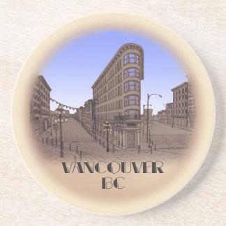 Vancouver Souvenir Coasters Vancouver Gastown Gift