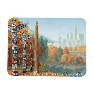 Vancouver Souvenir Magnet Totem Pole Landmark Gift