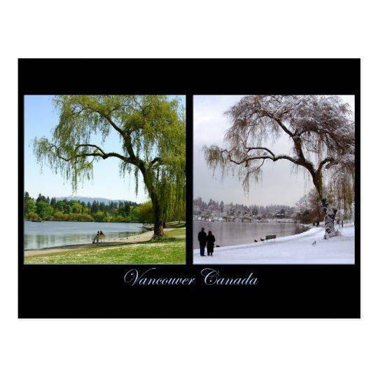 Vancouver Souvenir Postcards Seasons Landscape