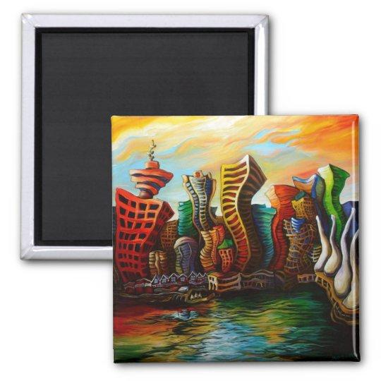 Vancouver Sunrise Magnet