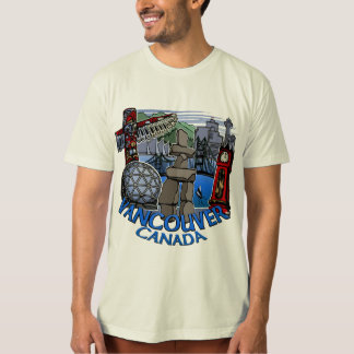 Vancouver T-shirt Souvenir Organic Vancouver Shirt