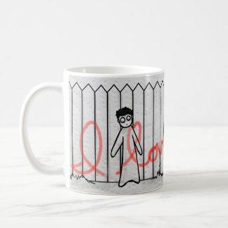 Vandal scandal! coffee mug