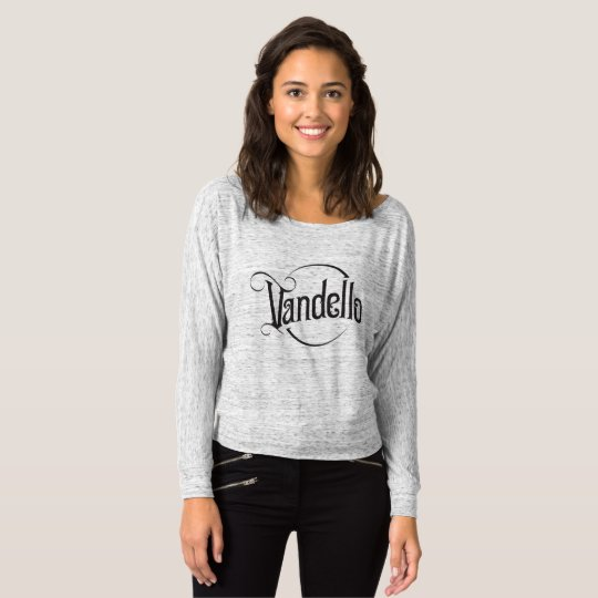 Vandello Band Logo - Women's Flowy Long-Sleeve Tee