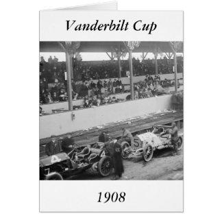 Vanderbilt Cup, 1908 Greeting Card