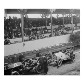 Vanderbilt Cup: 1908 Poster