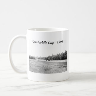 Vanderbilt Cup Auto Race, early 1900s Basic White Mug
