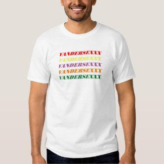 Vandersexxx souvenir t-shirt
