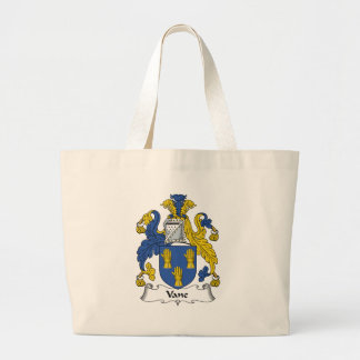 Vane Family Crest Tote Bag