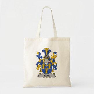 Vane Family Crest Canvas Bags