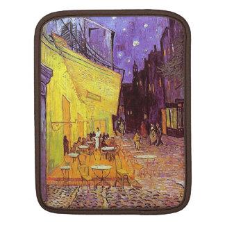 VanGogh Cafe Terrace at Night Fine Art iPad Sleeve