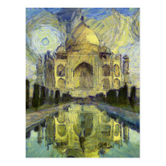 vangogh india postcard