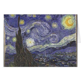 vangogh-starry night card
