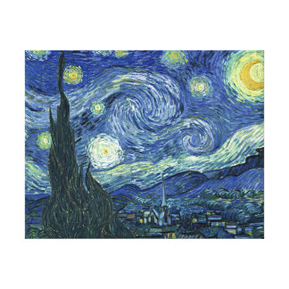 VanGogh Starry Night Wrapped Canvas