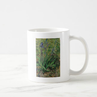 Vangogh The Iris Vintage Post impressionist Basic White Mug