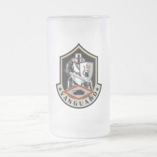 Vanguard Frosted Glass Beer Mug