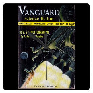 Vanguard_Pulp Art Clock