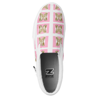 Vanilla butterfly Slip-On shoes