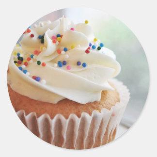 Vanilla Cupcake  Photograph lll Stickers